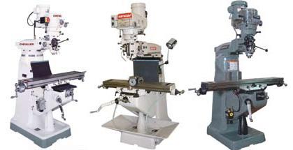 CNC, Metalworking & Manufacturing BRIDGEPORT MILL PART MILLING ...