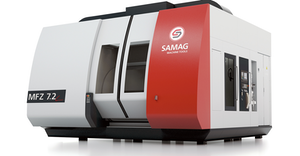 SAMAG, in Saalfeld, Germany, with offices and service centers worldwide, engineers and builds a variety of multi-spindle machines under the MFZ Series brand, for high-volume cubic workpieces.