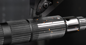 Sandvik Coromant CB7125 and CB7135 carbon boride inserts for interrupted hard-part turning.