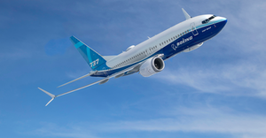 Boeing The 737 MAX is a twin-engine, narrow-body jet and the latest iteration of Boeing's best-selling aircraft. It debuted for commercial service in 2017.