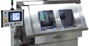In January 2020 Glebar announced its purchase of Tridex Technology, another specialty developer of electrochemical grinding (ECG) processes. ECG is a 'precision abrasive' process typically used for tube cutoff of materials like stainless-steel hypodermic needle tubing, where deburring is impractical.