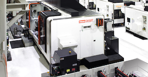 The Mazak SmartBox designed to operate with open-source software and protocols at the same time it offers virtually limitless scalability.