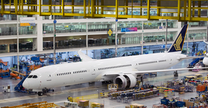 Boeing will consider consolidating 787 Dreamliner manufacturing at a single location.