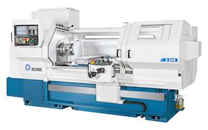 Romi Machine Tools' C 420 CNC lathe.
