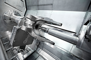 The M175 MILLTURN is available for a variety of applications, such as machining large landing gears.