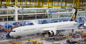 Boeing will center all 787 Dreamliner production in South Carolina.