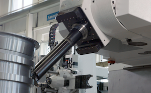 Starrag's new STC-MTV five-axis mill-turn machining centers are targeted for hard metal machining of a wide range of workpieces, such as aerospace engine casings and gearboxes.