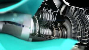 Rolls Ultrafan Cutaway 800