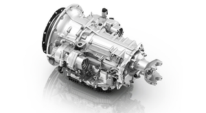 The ZF PowerLine transmission designed for medium-duty commercial vehicle trucks, buses and heavy-duty pickup trucks. The transmission is based on ZF's 8-speed automatic transmission benchmark design, which provides maximum spread with fewer moving parts, reduced friction and less fluid. ZF PowerLine provides an incomparable total cost of ownership (TCO) with minimal maintenance, best-in-class fuel efficiency potential in the double digits, and highly integrated shift algorithms that promote up to 15% enhanced acceleration performance.