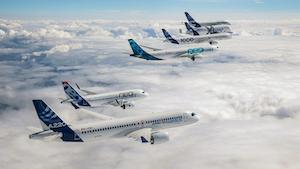 Airbus A220 A320 A330 A350 A380 Promo