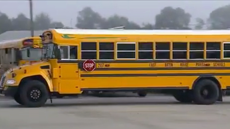 East Baton Rouge La District Replaces Buses Damaged In 2016 Flooding American School University