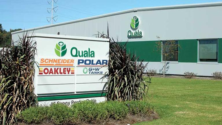 Quala S Savannah Wash Rack Ranks As Largest Built In Past 10 Years Boosts Foodgrade Cleaning Capacity Bulk Transporter