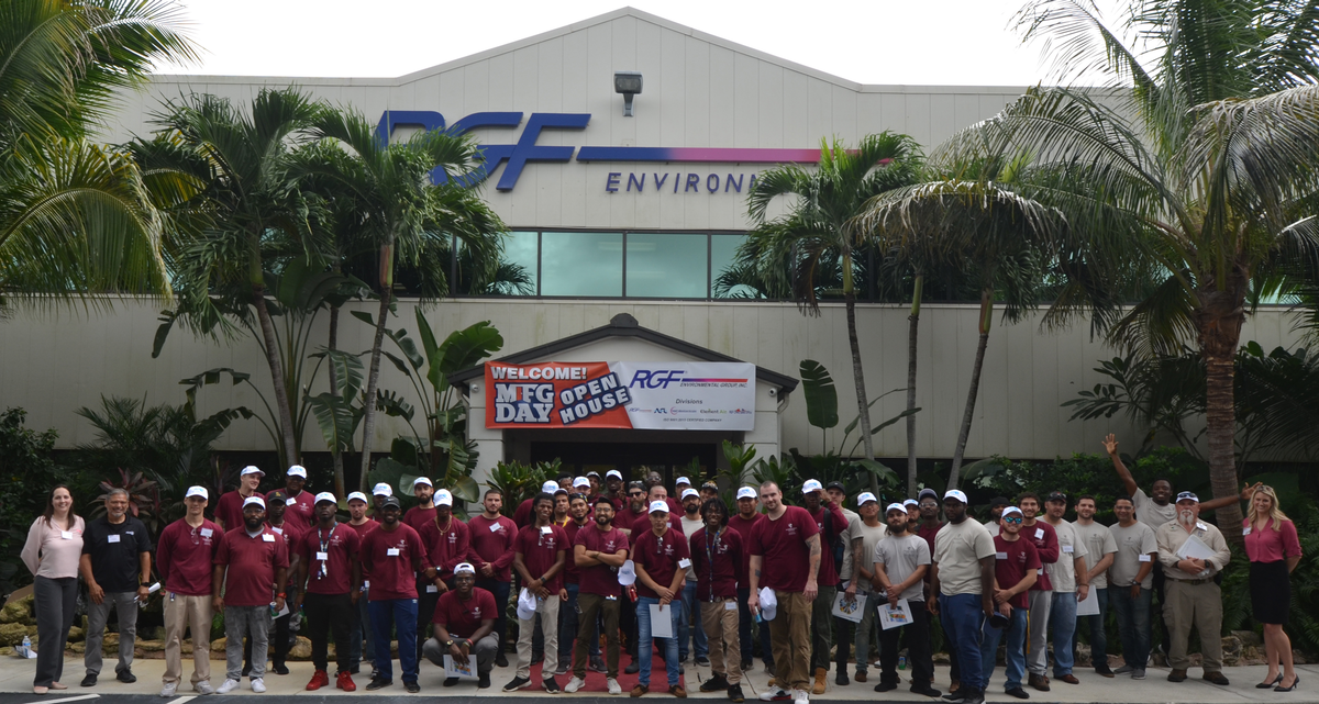 RGF Hosts Vocational Students on National Manufacturing Day
