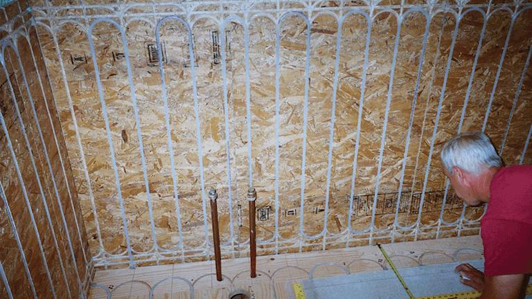 Hydronic Radiant Wall Heating Still