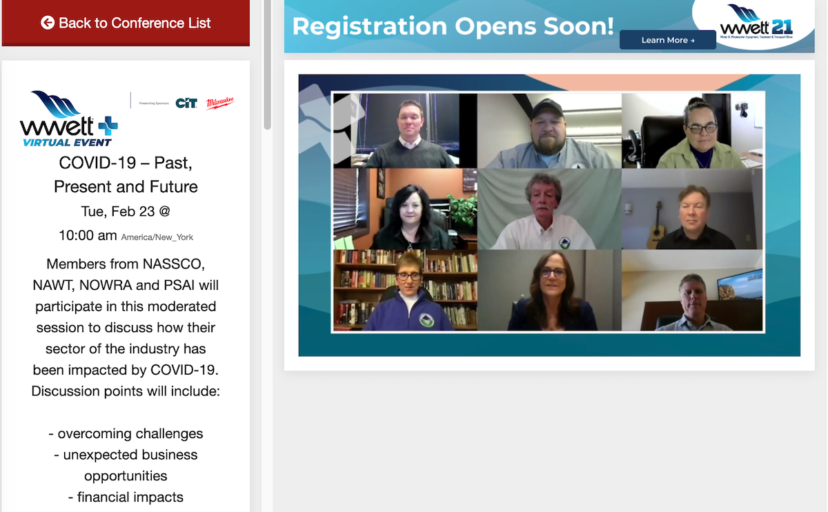 WWETT+ Virtual Event Offers Conferences, Online Marketplace