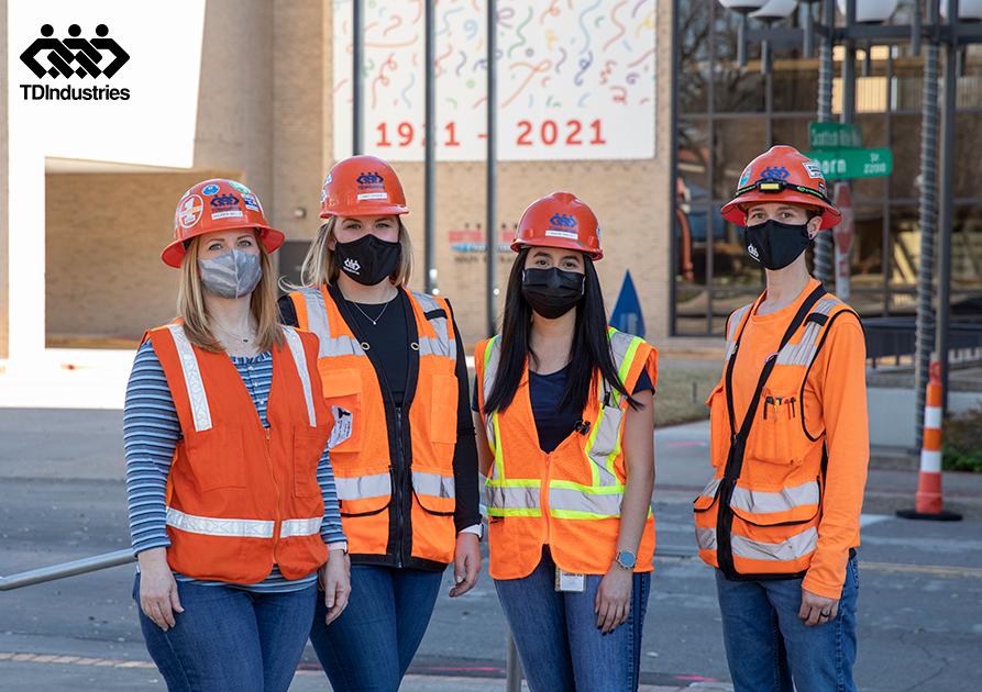 TDIndustries Celebrates Women in Construction Week