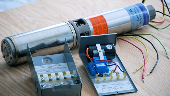 [DIAGRAM_5UK]  Troubleshooting Residential Submersible Pump Systems | EC&M | Well Pump Capacitor Wiring Diagram |  | EC&M