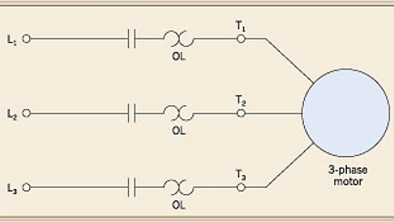 ecmweb_1958_709ecmmffig1  Phase Transformer Wiring Diagram Start Stop Motor Control on