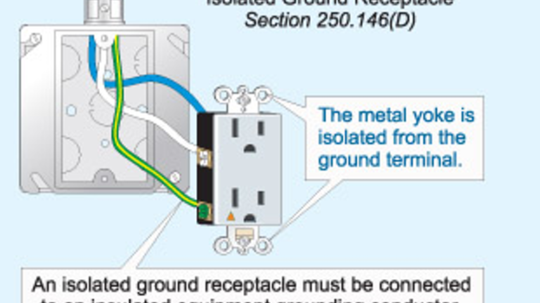 isolated ground receptacle wiring diagram code quandaries ec m  code quandaries ec m