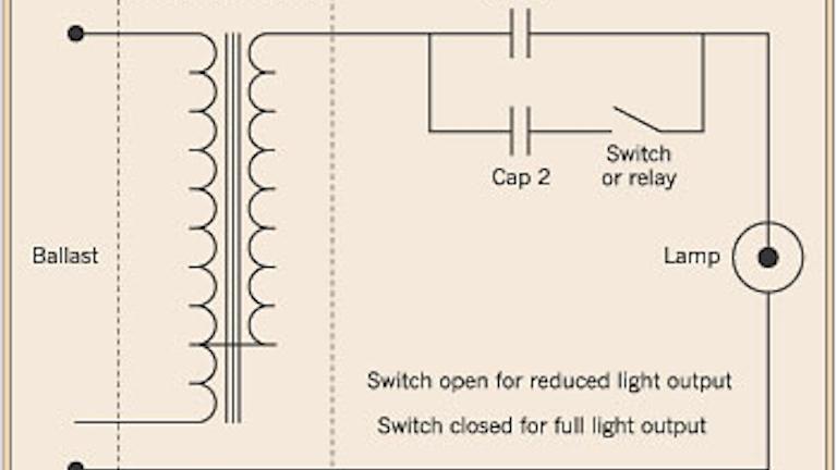 light metal halide ballast wiring schematic hid lamp dimming ec m  hid lamp dimming ec m