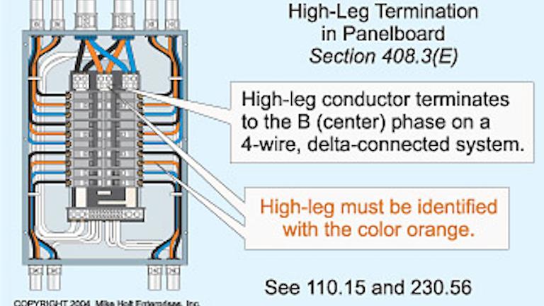 [DIAGRAM_4PO]  Code Quandaries | EC&M | Delta 4 Wire Diagram |  | EC&M