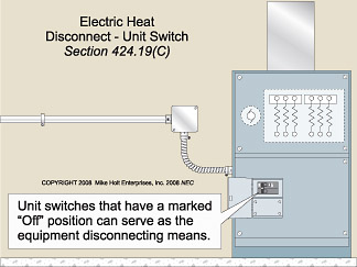 article 424 fixed electric space heating ec&m reznor heater wiring diagram 10kw electric heater wiring diagram #11