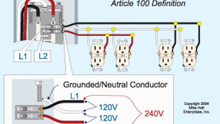 Code Quandaries | EC&M | Multi Wire Branch Circuit Diagram |  | EC&M