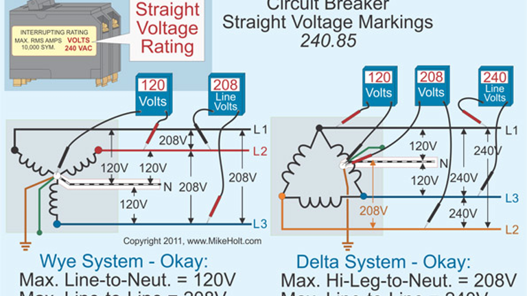 [QMVU_8575]  Stumped by the Code? Requirements for Slash Versus Straight Voltage Rated  Breakers and More | EC&M | Hot Tub Electrical Wiring Diagram 120vac |  | EC&M