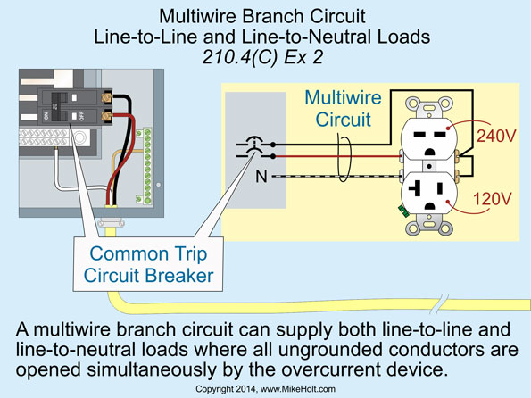 Multi Wire Branch Circuit Diagram Wiring Diagram Priv