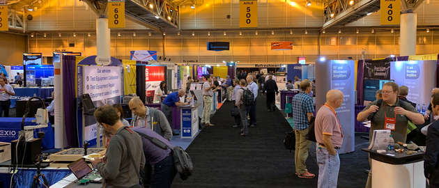 EMC + SIPI included nearly 100 individual vendors occupying more than 150 exhibitor booth spaces.