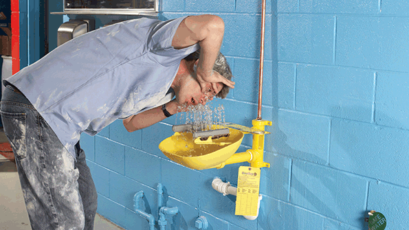 Protecting Those Peepers A Guide To Eye Wash And Emergency Shower Stations Ehs Today