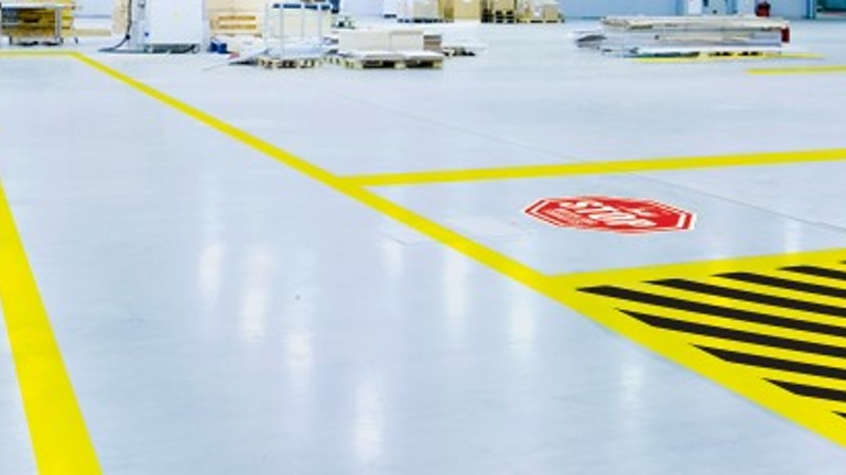 Floor Marking Tape Provides Easy Ways to Mark Out Line