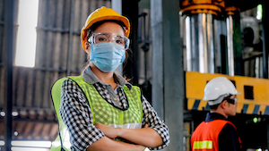 Factory Worker In Mask 5f209be2ebfd2