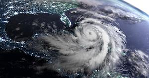 Hurricane Over Gulf