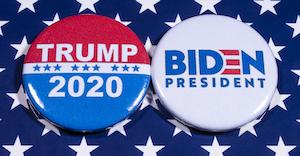Trump V Biden Buttons