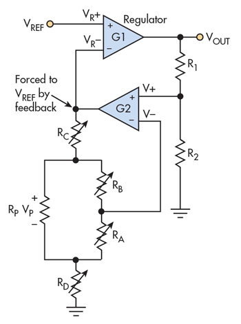Extend Low-Voltage Digipot Resolution to Control an