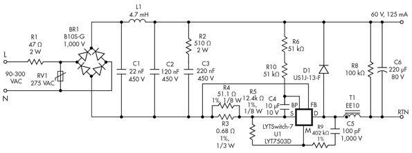5 Different Ways to Use LED Drivers | Electronic Design | Tube Led Driver Wiring Diagram External |  | Electronic Design