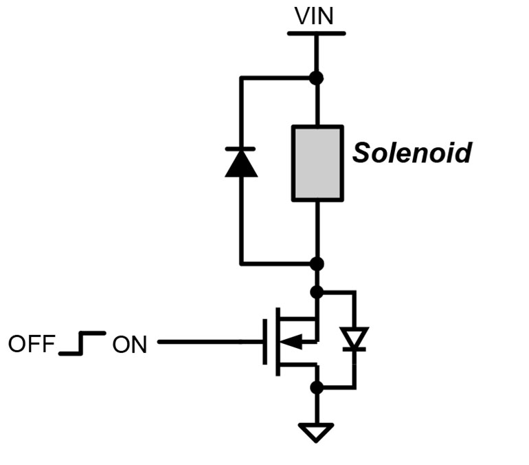 What S The Best Way To Drive A Solenoid Electronic Design