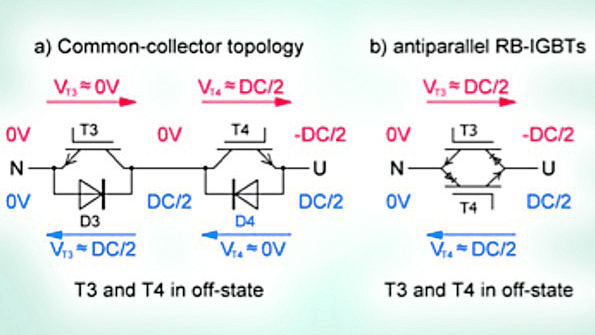 Implement Gate Drivers For 3 Level Npc2 Modules With Reverse Blocking Igbts Electronic Design
