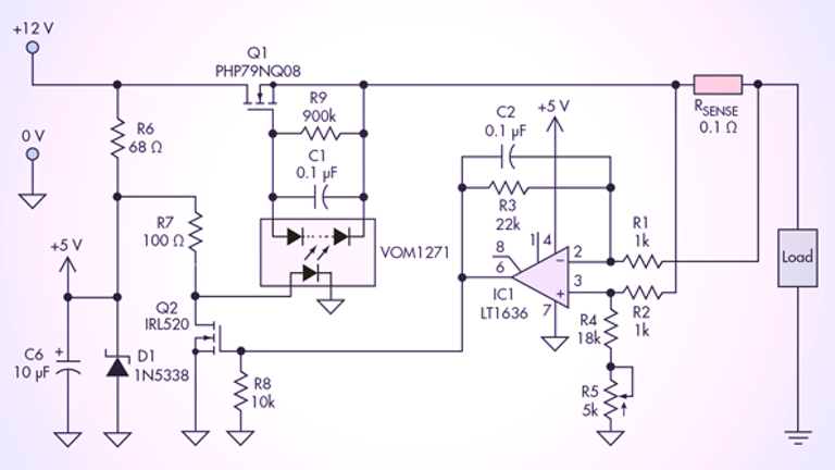 Current Limiter Offers Circuit Protection with Low Voltage ...