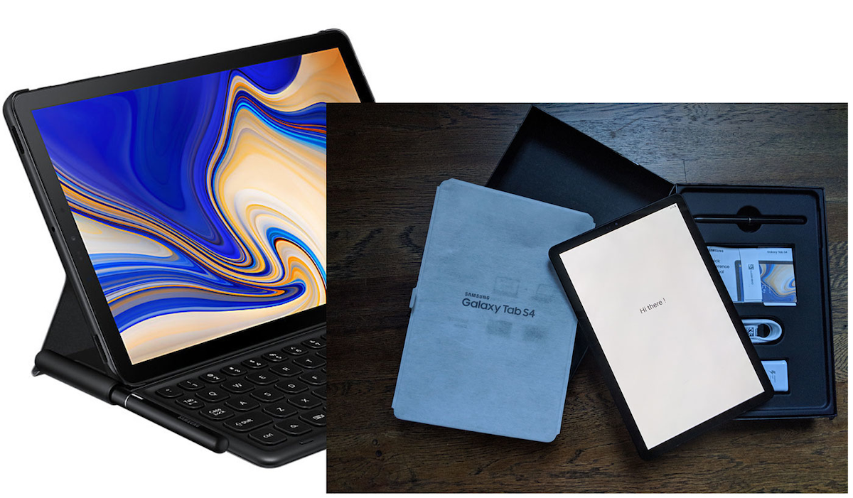 Inside Samsung S Tab S4 The Best 2 In 1 Android Around Electronic Design