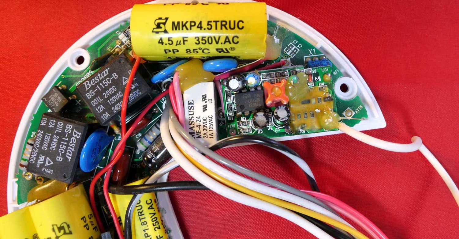 Ceiling Fan Motor Wiring Diagram Bypass Remote Module
