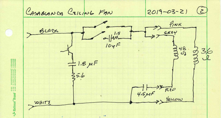 the casablanca ceiling fan teardown  electronic design