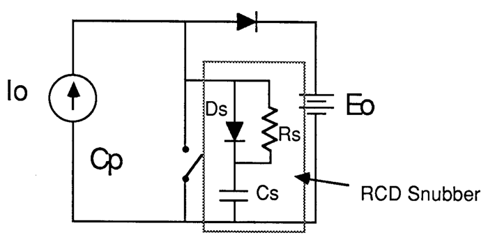 3. An RCD snubber network uses a diode to steer the current so that power isn't wasted during switch turn-on. (Courtesy of Cornell Dubilier)