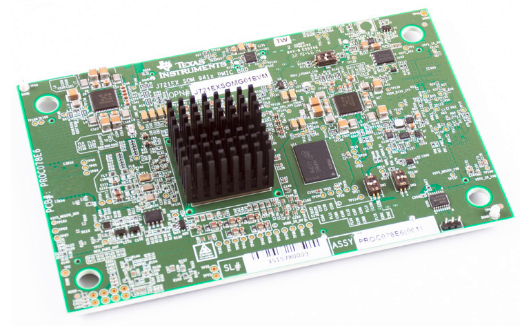 3. The TDA4VMXEVM evaluation kit is a system-on-module (SOM) board.