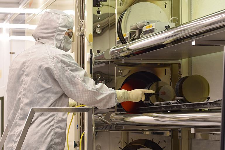 1. GaN semiconductor devices for optical and RF/microwave applications are available from a wide range of suppliers, in many forms, from wafer level to packaged devices. (Courtesy of Wolfspeed, a Cree company)