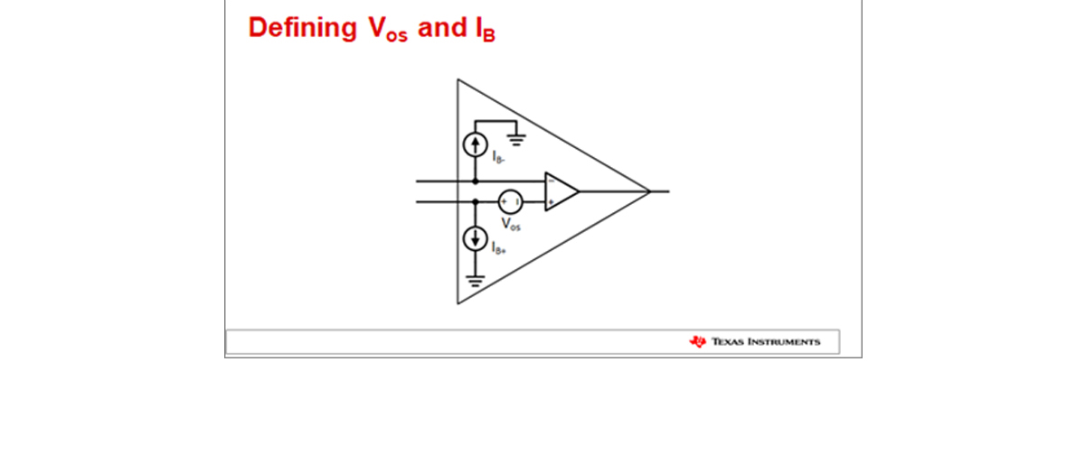 Avoiding common op amp design issues: Offset Voltage and