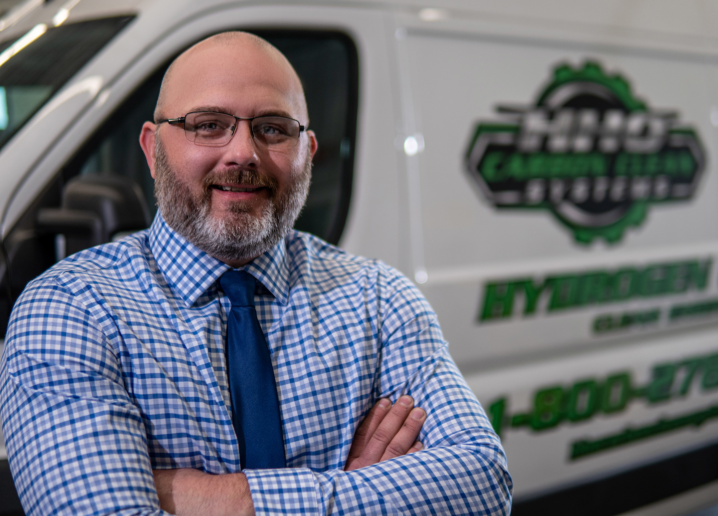 Jared English, founder of HHO Carbon Clean Systems