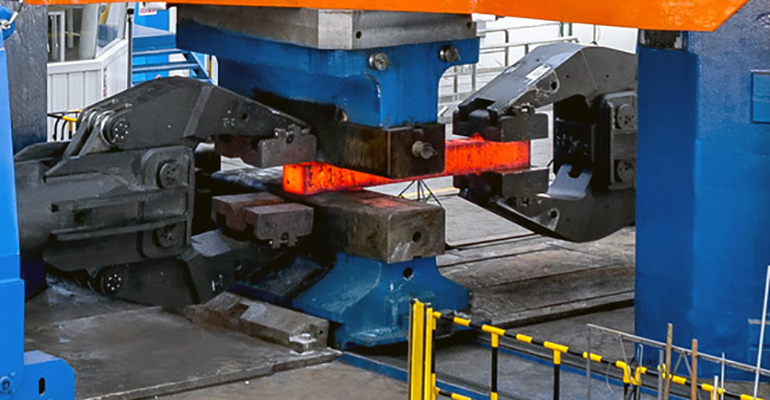 Units space forging machines