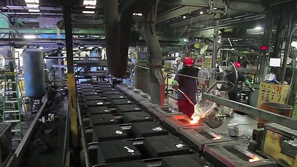 Plant manufacture technological equipment for foundry
